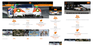 Racing Website Design